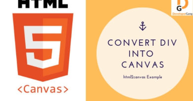 html2canvas example