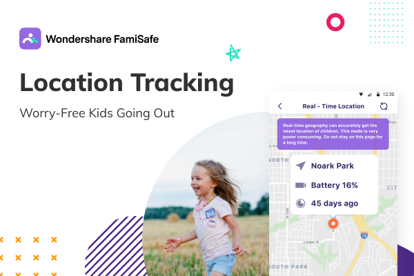 The best mobile tracker and parental control app   FamiSafe